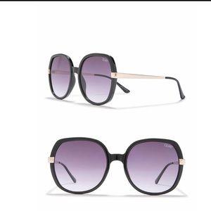 Quay Australia 60mm Gold Dust Square Sunglasses